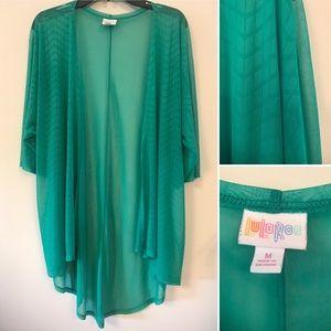 Green kimono/cardigan